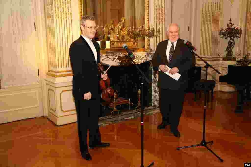 Вадим Репин и посол России в США Сергей Кисляк. Вашингтон