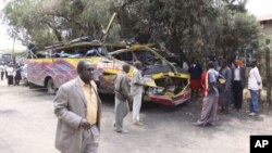 Ajali ya basi iliyotokea kusini magharibi ya Kenya, watu 20 walifariki katika ajali hiyo.