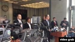 美國聯邦調查局1月6號在舊金山舉行記者會,宣布嫌疑人馮嚴豐被捕。