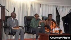 Perezida Paul Kagame mu ntara y'iburengerazuba