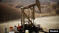 Khu vực khai thác dầu ở Monterey Shale, bang California