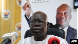 Salif Diallo, aex-bras droit de l'ex-chef d'Etat burkinabè Blaise Compaoré, élu président de la nouvelle Assemblée nationale du Bukina, 30 décembre 2015.