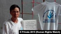 Ông Nguyễn Văn Túc (Photo by HRW © Private 2015)