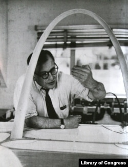 Gateway Arch architect Eero Saarinen