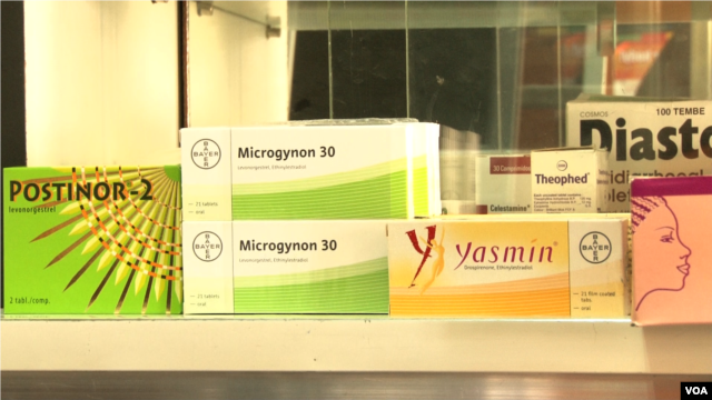 Less invasive medical treatments for infertility have become popular in Kenya, such as taking prescription drugs to spur ovulation, March 29, 2016. (R. Ombuor/VOA)