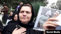 فرنگیس مظلوم مادر «سهیل عربی»، فعال مدنی زندانی در ایران