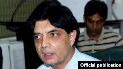 وفاقی وزیرداخلہ چودھری نثار علی خان