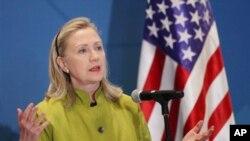 Ngoại trưởng Hoa Kỳ Hillary Clinton nói con đường của tiến trình cải cách còn dài