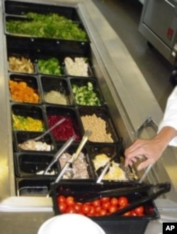 Chef Ann Cooper, director of nutrition services for Boulder Valley Schools in Colorado, has removed sugar and fried foods from the lunches. She's also set up a full salad bar in each cafeteria.