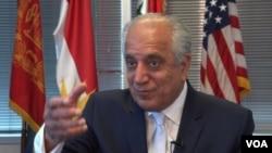 په افغانستان کې د امریکا پخوانی سفیر زلمی خلیلزاد