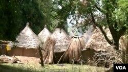 Les personnes déplacées ont abandonné leurs habitations dans le village de Wack, nord du Cameroun, le 10 août 2018. (VOA/Moki Kindzeka)