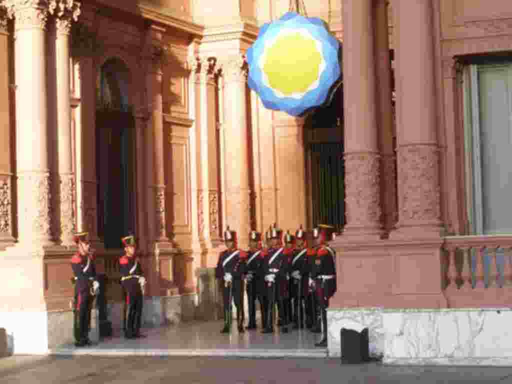 Por la patria, Argentina
