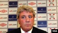 Steve Bruce dipecat sebagai Manajer klub Sunderland karena minimnya kemenangan yang diraih klub itu (foto:dok).