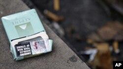 Pengadilan AS mengatakan belum ada data gambar dampak merokok pada bungkus rokok akan mengurangi kebiasaan tersebut. (Foto: Dok)