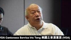 香港人權監察總幹事羅沃啟 (攝影﹕美國之音記者湯惠芸)