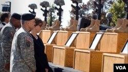 Escenario del ataque de noviembre de 2009 que dejó 13 personas muertas y 32 lesionadas.