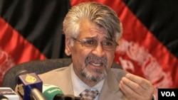 Jurubicara Kementerian Pertahanan Afghanistan Zahir Azimi. (Foto: dok)