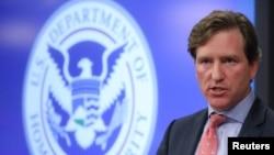 U.S. Department of Homeland Security Under Secretary Chris Krebs