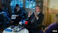 El ex embajador de Venezuela ante la ONU, Diego Arria, dijo a Colombia que Walid Makled debería ser extraditado a Estados Unidos.