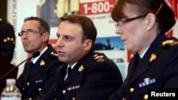 Para pejabat Kepolisian Federal Kanada, RCMP. (Foto: Dok)