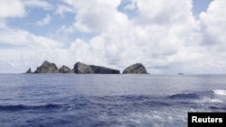 Dãy đảo có tranh chấp Senkaku/Ðiếu Ngư.