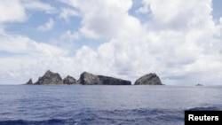 中国称为钓鱼岛/日本称为尖阁诸岛(资料照片)