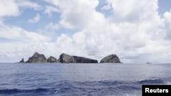 钓鱼岛(日本称之为尖阁诸岛)附近水域