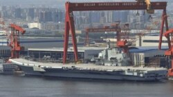 نخستین آزمایش دریایی ناو هواپیمابر چین