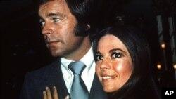 Роберт Вагнер и Натали Вуд. 1980 год