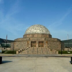 Adler Planetarium in Chicago was the first modern planetarium in the United States