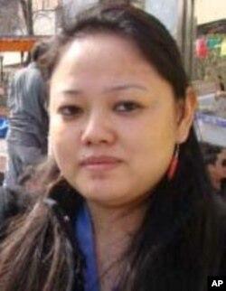 騰英延世 大紐約區西藏青年國會公關祕書