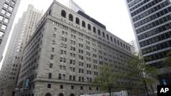 Tòa nhà của Ngân hàng Trung ương Mỹ tại thành phố New York.