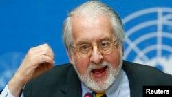 Kepala Komisi PBB untuk Penyelidikan Suriah, Paulo Pinheiro (foto: dok).
