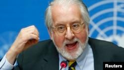 Chủ tịch ủy ban điều tra của Liên Hiệp Quốc về Syria, ông Paulo Pinheiro