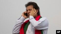 پاکستان تحریک انصاف کے سربراہ