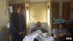 WNI korban luka-luka akibat kecelakaan di Phoenix, Arizona yang sempat dirawat di rumah sakit John C. Lincoln – North Mountain, Arizona (foto: dok).