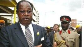 Malawi's Ex-President Bakili Muluzi and father of Atupele Muluzi who has resigned as minister.