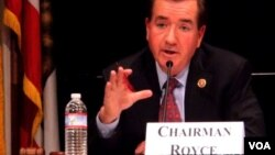 "US Congressman Ed Royce says Prime Minister Hun Sen has ""brought Cambodia to the brink"" and must step down."
