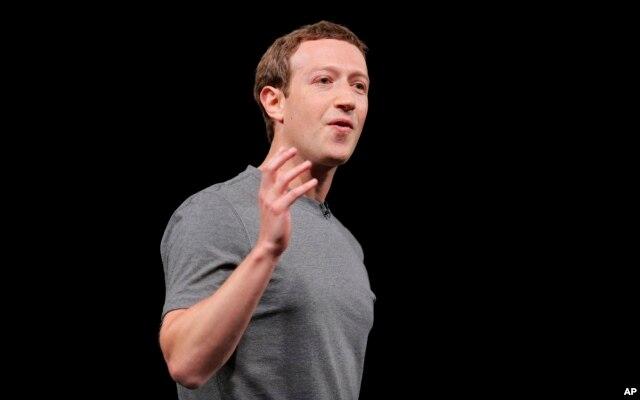 FILE - Facebook CEO Mark Zuckerberg.