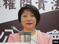 台灣民進黨立委范雲(美國之音張永泰拍攝)