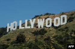 好莱坞地标(资料照片)