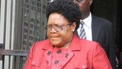 Former Vice President Joyce Mujuru Confirms Leadership of People First Party