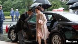 Кэрри Лам, глава администрации Гонконга