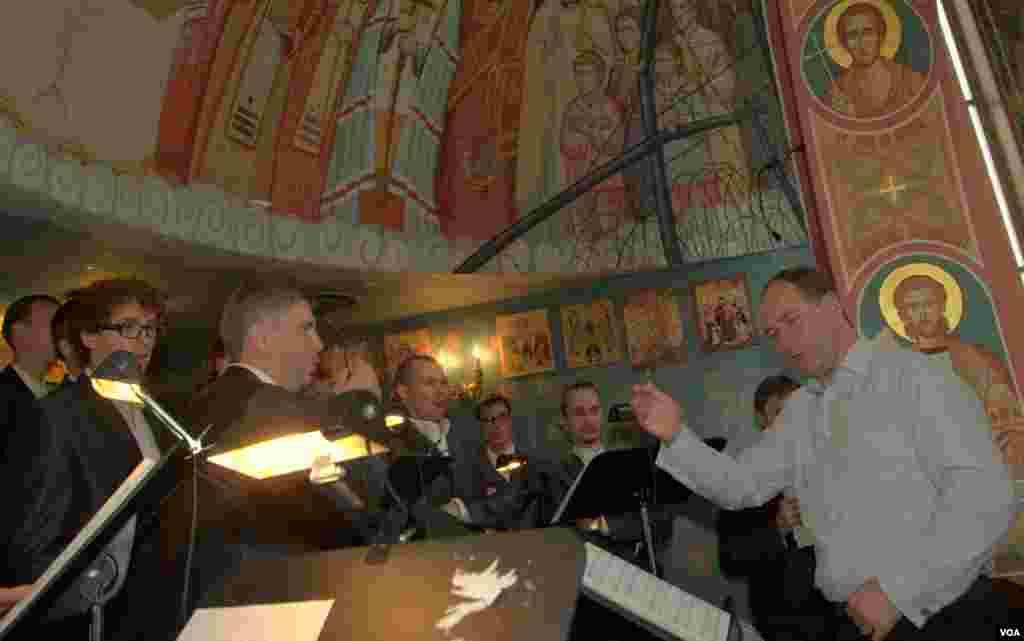 Пятая годовщина объединения церквей.