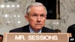 Bộ Trưởng Tư pháp Hoa Kỳ Jeff Sessions.