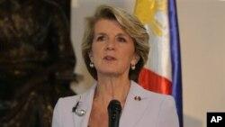 Menlu Australia Julie Bishop (Foto: dok).