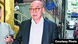 退休法官胡国兴(苹果日报图片)