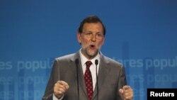 Rajoy ha negado la necesidad de ayuda europea en una rueda de prensa en Madrid