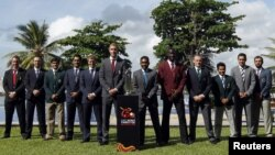 ٹورنامنٹ میں شامل 12 ٹیموں کے کپتان