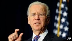 Wapres AS Joe Biden mengatakan pemerintah Amerika akan mendorong perjanjian perdagangan bebas dengan wilayah Pasifik dan Uni Eropa (foto: dok).